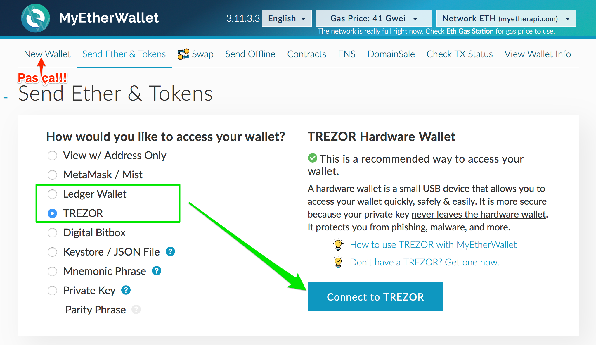 My Trezor Does Not Ask For Pin Import Metamask Address To