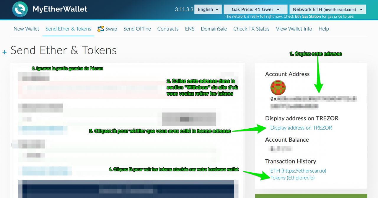 Comment sécuriser ses crytos-tokens ERC20 sur Ledger ou Trezor
